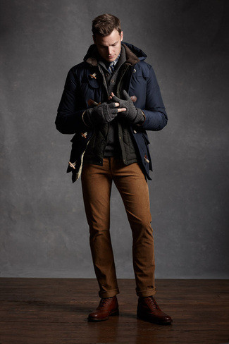 Cap-Toe Boot Look 2