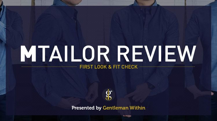 MTailor Custom Shirt Review | First Look & Fit Check | GENTLEMAN WITHIN