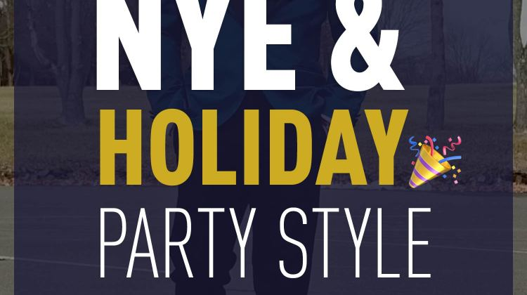 What To Wear: Holiday Party & New Year's Eve Lookbook | GENTLEMAN WITHIN