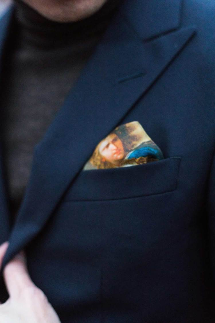 Rampley And Co Pocket Square Details 2 | GENTLEMAN WITHIN