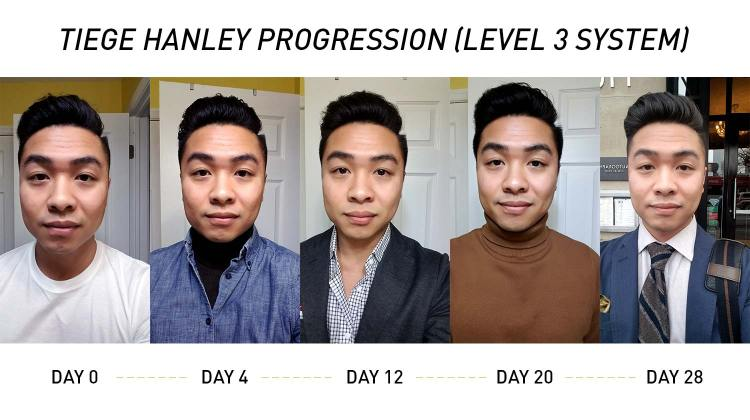 Tiege Hanley 1 Month Progression | GENTLEMAN WITHIN