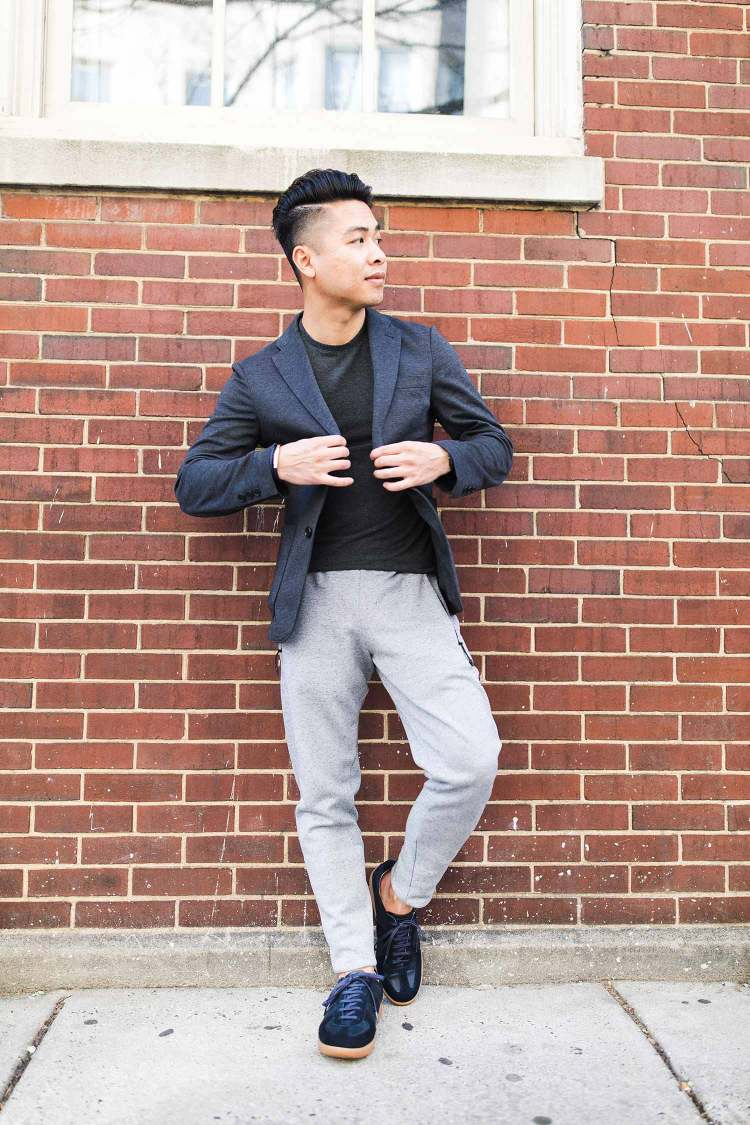 RoseGold And Black Athleisure | GENTLEMAN WITHIN