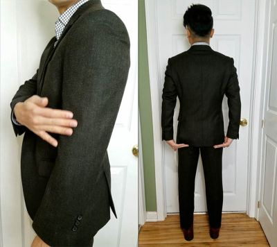 Sleeve Pitch And Jacket Length   GENTLEMAN WITHIN