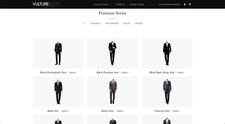 Vulture Suits Premium Series | GENTLEMAN WITHIN