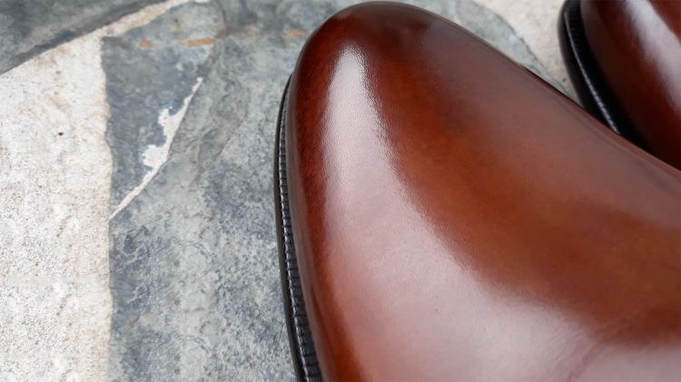 Wholecut Burnishing | GENTLEMAN WITHIN