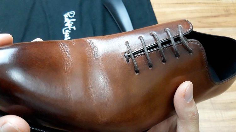 Paul Evans Wholecut Shoe Crease | GENTLEMAN WITHIN