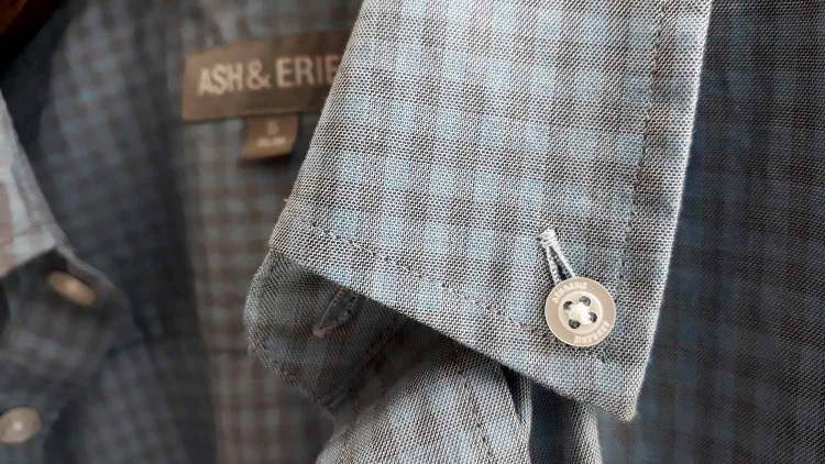 Ash and Erie Casual Gingham Shirt