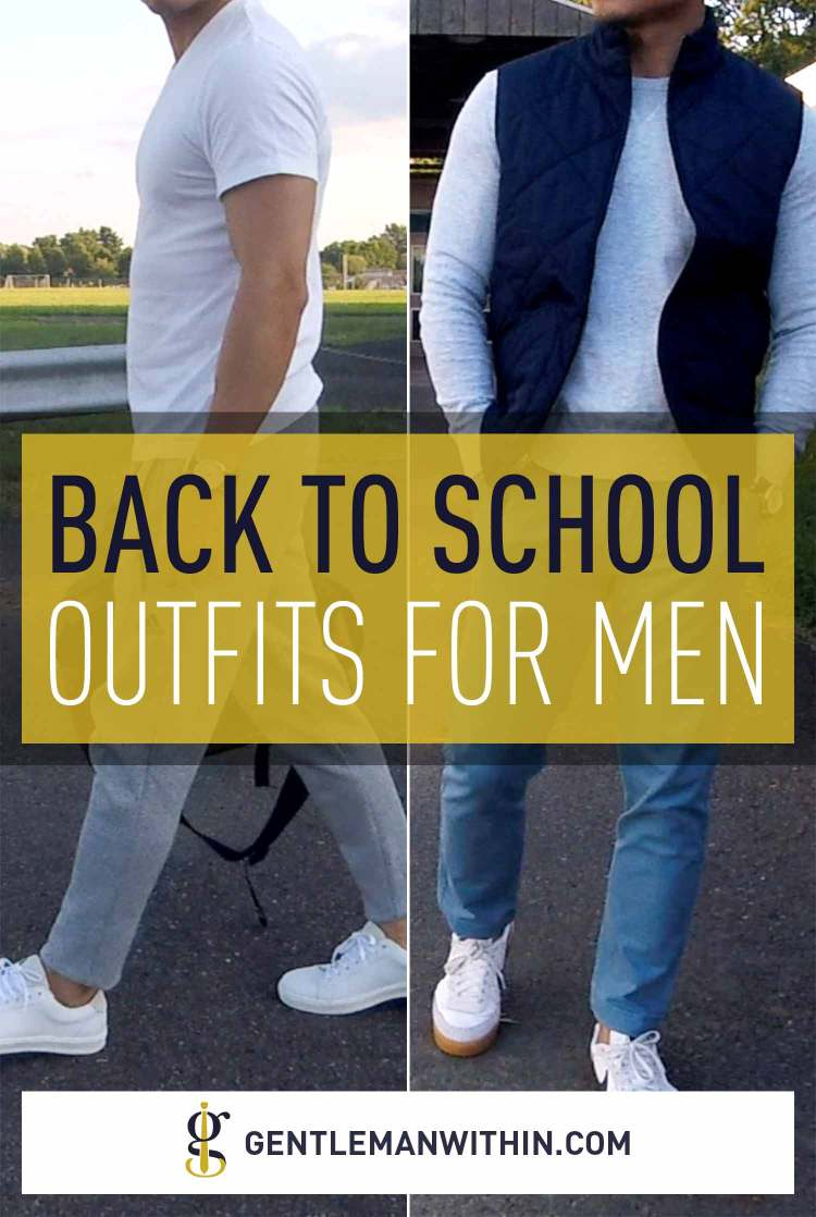 Stylish Back To School Outfits For Men Casual Style 101