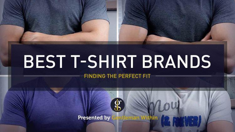 Best T-Shirt Brands For Men | GENTLEMAN WITHIN