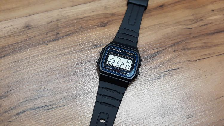 Casio Watch 24 hrs | GENTLEMAN WITHIN