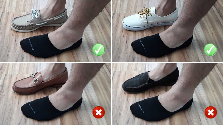 Feetures No Show Sock Test