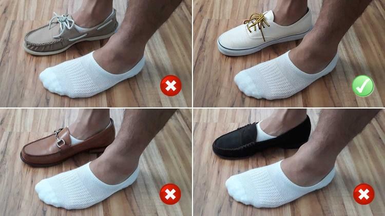 Stomper Joe No Show Sock Test