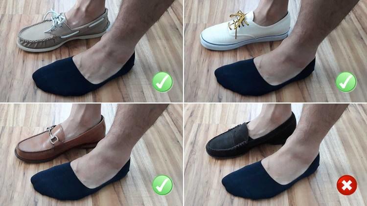 UNIQLO No Show Sock Test
