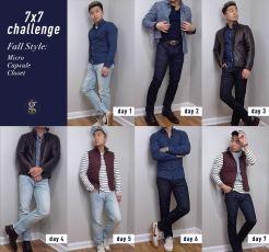 7 x 7 Challenge | Fall Micro Capsule Wardrobe | GENTLEMAN WITHIN
