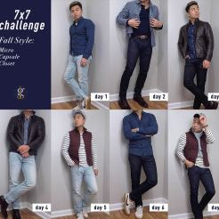 7 x 7 Challenge | Fall Micro Capsule Wardrobe | GENTLEMAN WITHIN