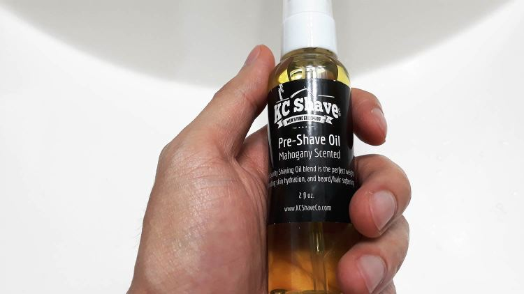 KC Shave Co Pre-Shave Oil