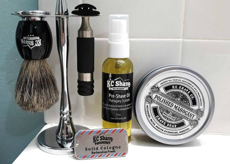 KC Shave Co Premium Safety Razor Kit