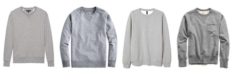 Grey Sweatshirts