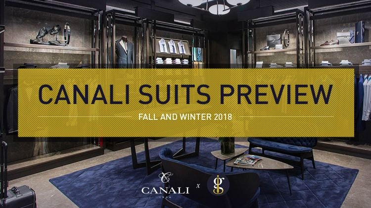 Canali Suits Preview Fall And Winter 2018 | GENTLEMAN WITHIN