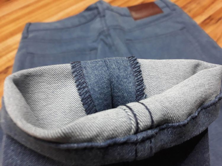 MTailor Jeans Seam Fabric Allowance