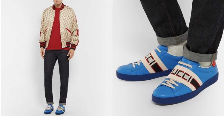 Bold Logo Sneaker Trend 2