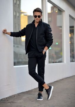 Bomber Jacket Outfit Inspo 1