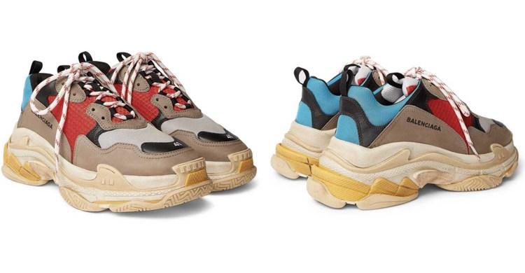 Chunky Sole Sneaker Trend 1