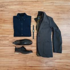 How To Wear A Casual Vest Flatlay 2