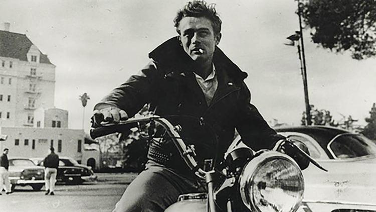 James Dean Triumph Motorcycle Leather Jacket