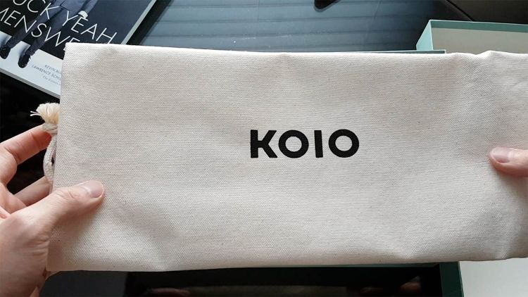 Koio Sneakers Canvas Dust Bag