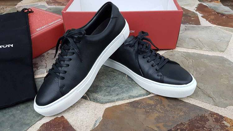 Beckett Simonon Reid Sneakers Displayed