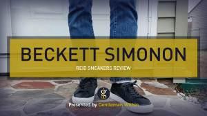 Beckett Simonon Reid Sneakers Review | GENTLEMAN WITHIN