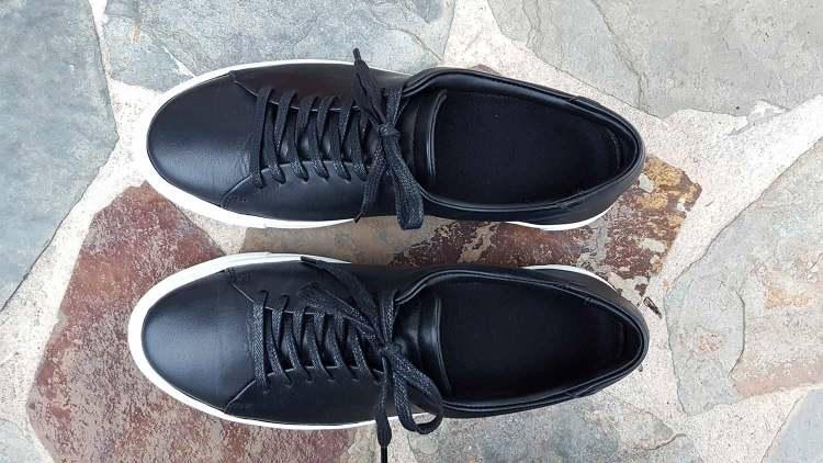 Reid Sneakers Lining Insoles Top Down View