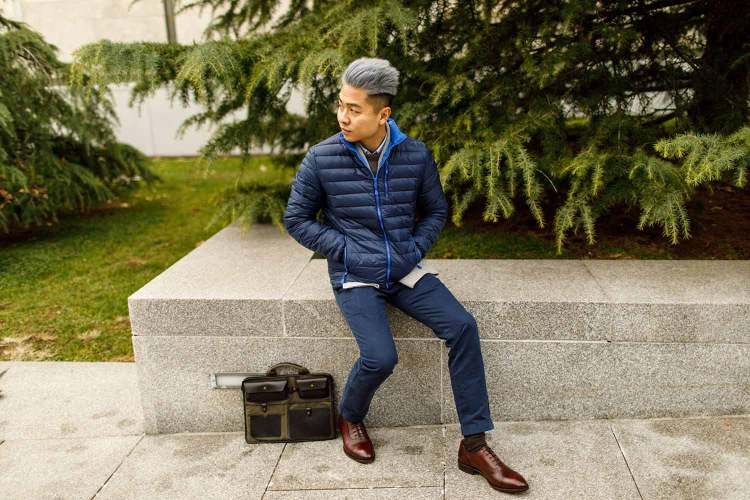 Winter Outfit 2a - The Business Casual