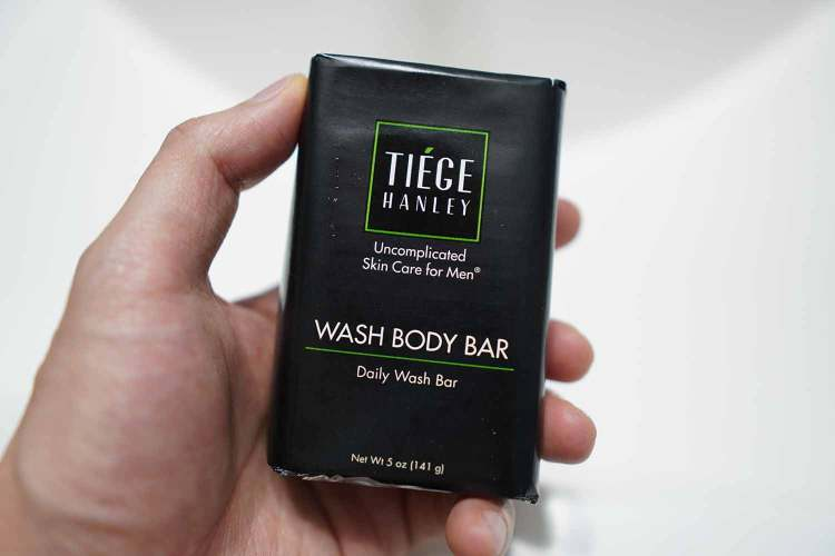 Tiege Hanley Wash Body Bar Packaging
