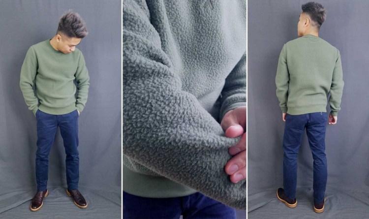 Everlane ReNew Fleece Sweatshirt Fit