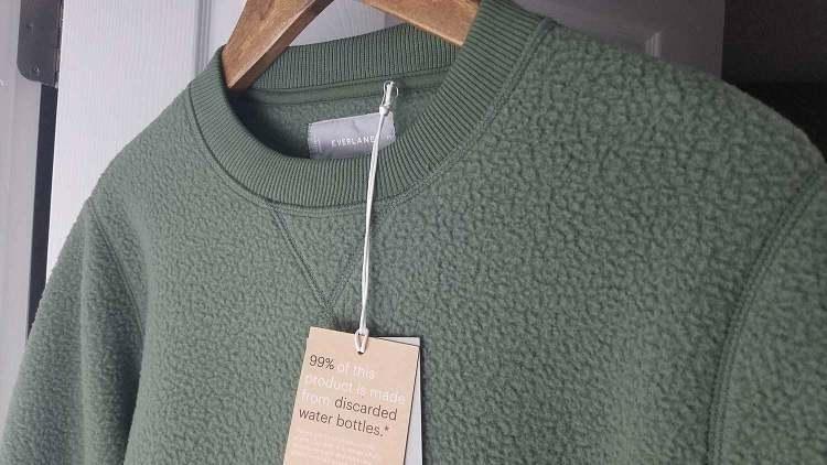 Everlane ReNew Surplus Fleece Sweatshirt