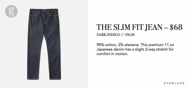 Everlane Slim Jean Details