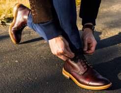 Lacing Up Taft Boots
