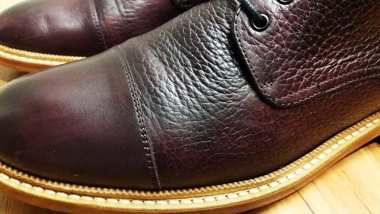 Rome Boot Blake Stitch Detail