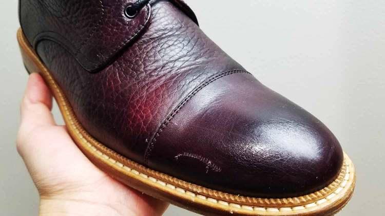 Taft Rome Boot Scuff Marks