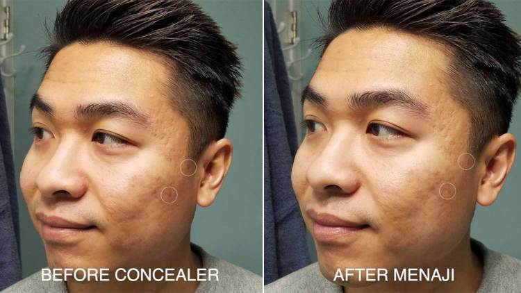 Before And After Menaji Camo Concealer