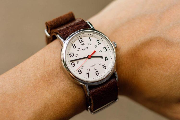 Timex Weekender Detail Shot