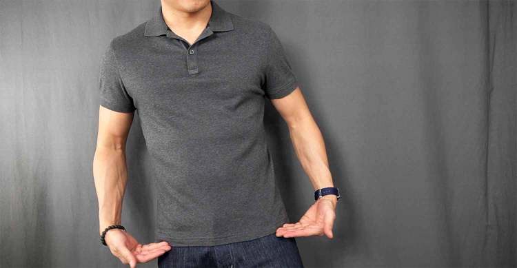 Luxury Touch Polo Length Shrinkage