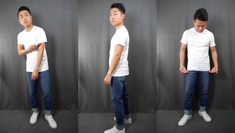 Driggs White T-Shirt Fit