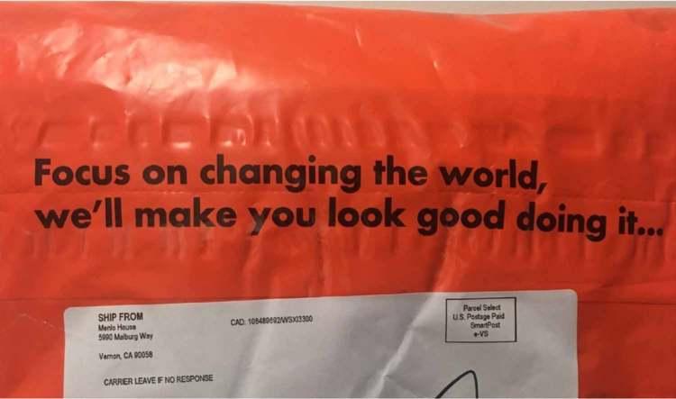 Menlo Club Tagline Packaging