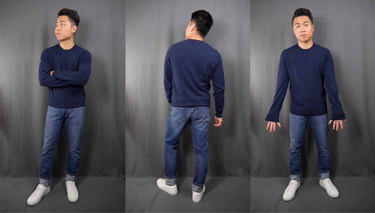 Mott And Bow Cashmere Sweater Fit