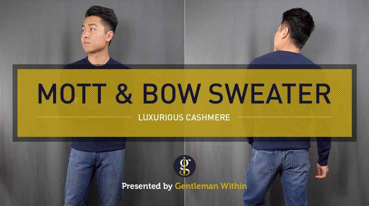 Mott & Bow Cashmere Sweater Review: Luxurious Layering | GENTLEMAN WITHIN