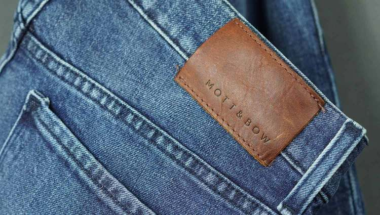 Mott & Bow Jeans Tag