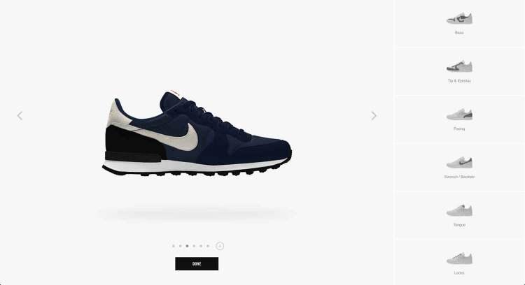 Nike Internationalist Low By You Customize